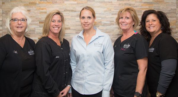 maplewood dental administrative team